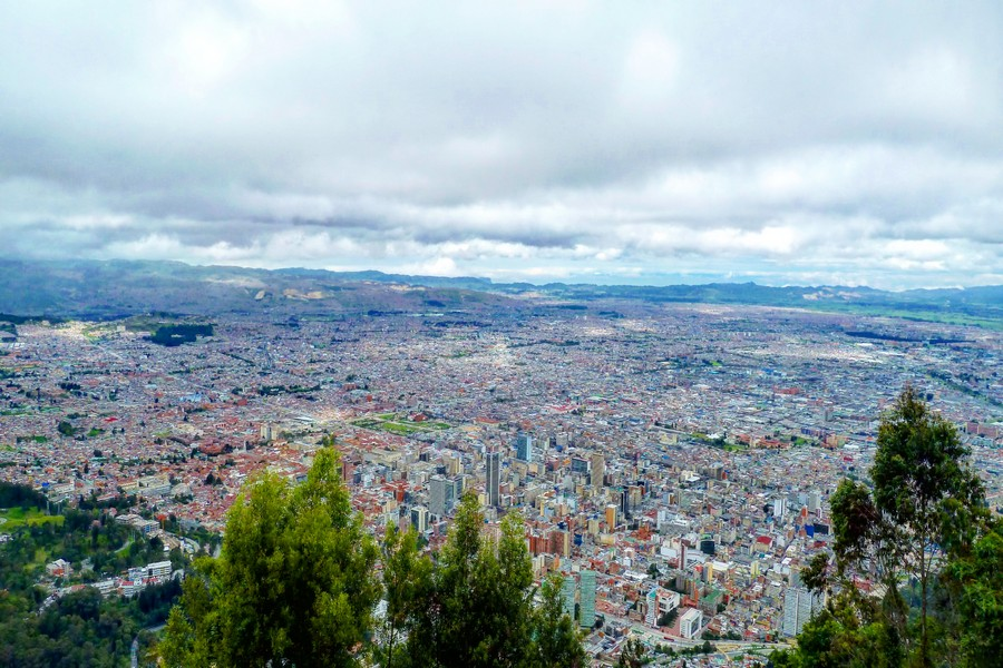 Veiligheid Bogotá - Colombia