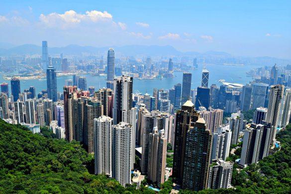 Hongkong - The Peak - Skyline