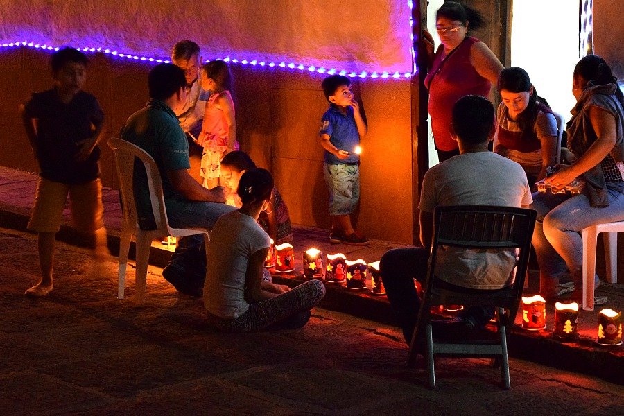 Traditie in Colombia: Las Velitas in Barichara