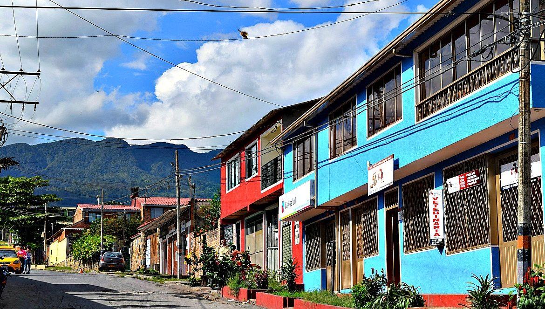 Colombia buiten de gebaande paden