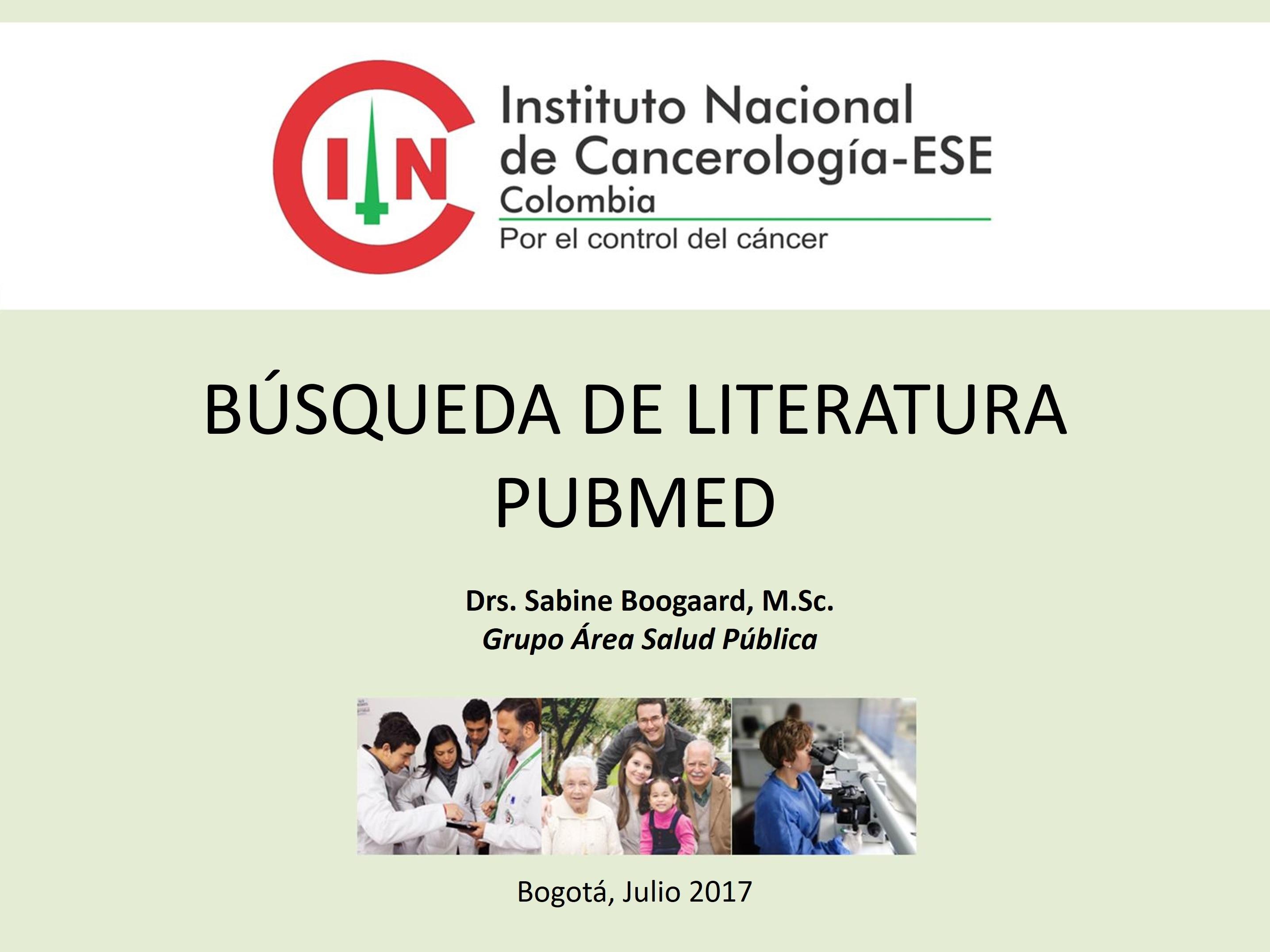 Presentación PubMed