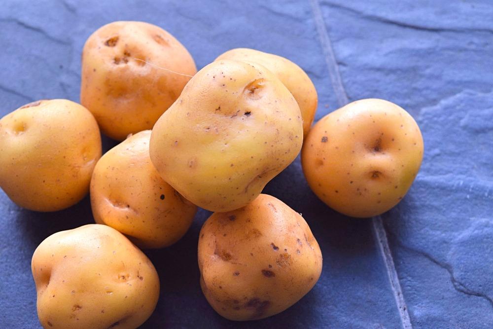 Aardappelen ajiaco - papa criolla