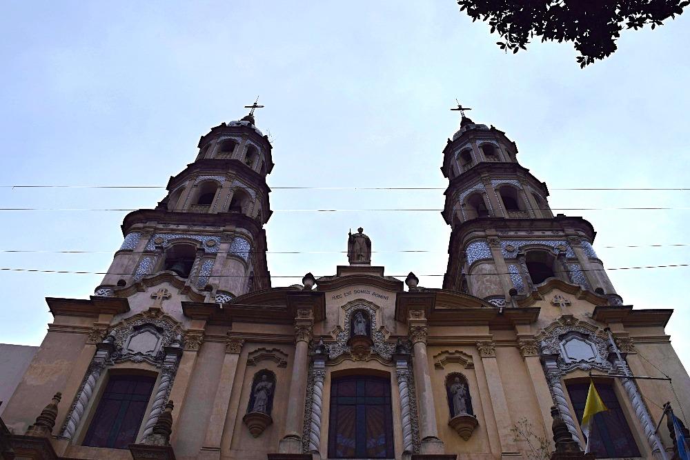 Buenos Aires San Telmo kerk