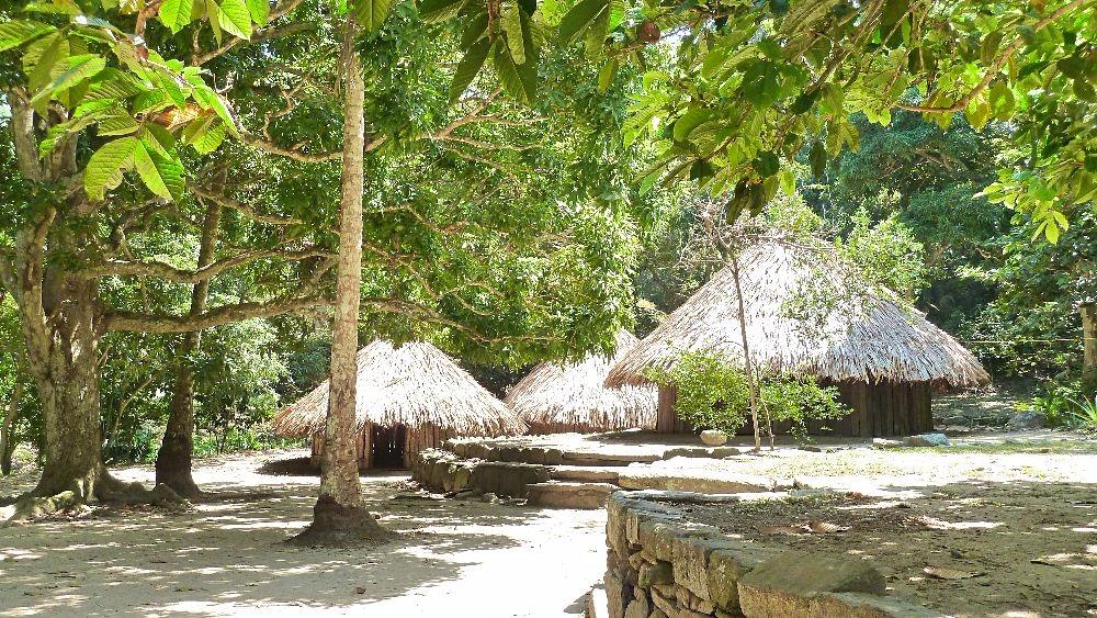 Pueblito Tayrona - Nationale Parken Colombia