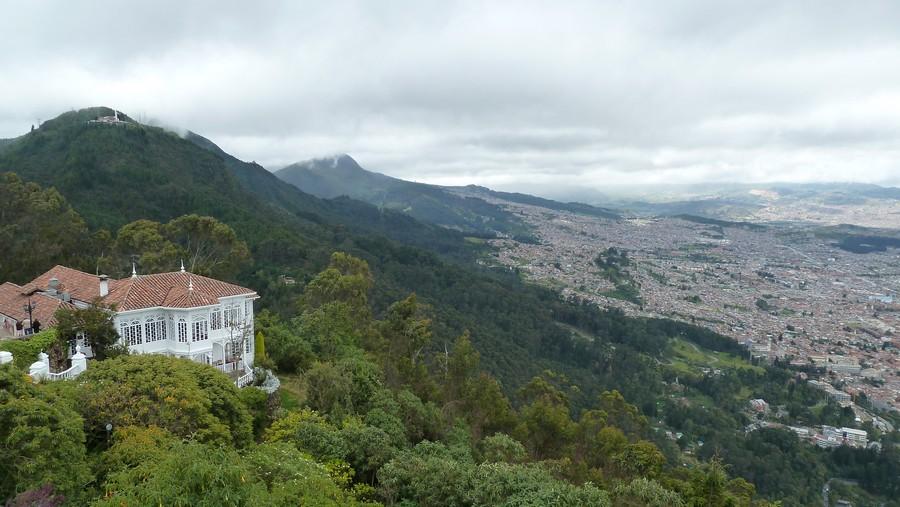Op grote hoogte - Bogotá