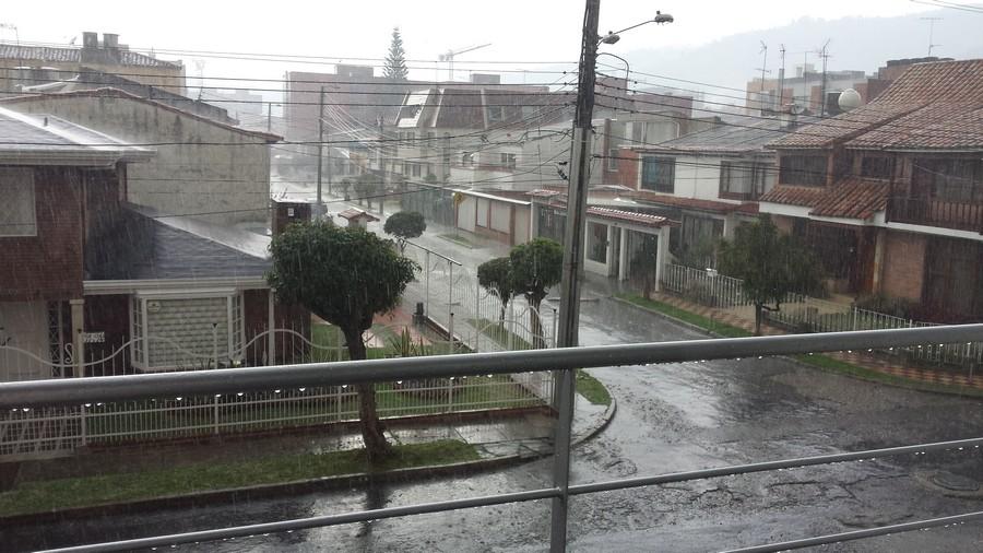 Regen in Bogotá