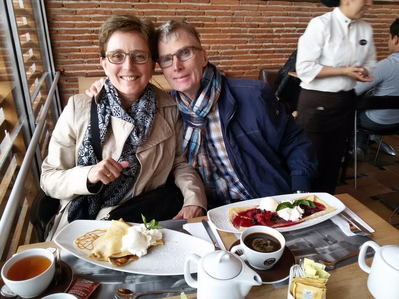 Pap en mam in Bogotá