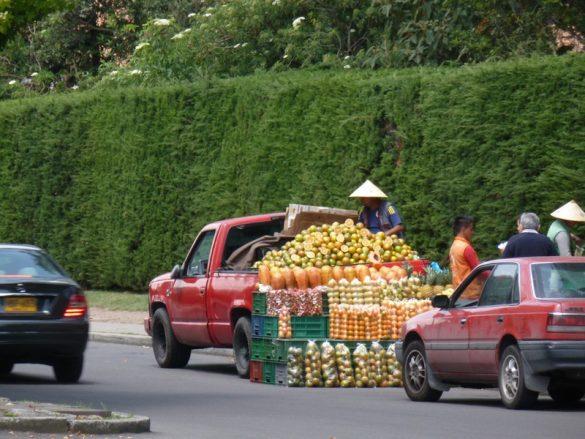 Bogotá fruit