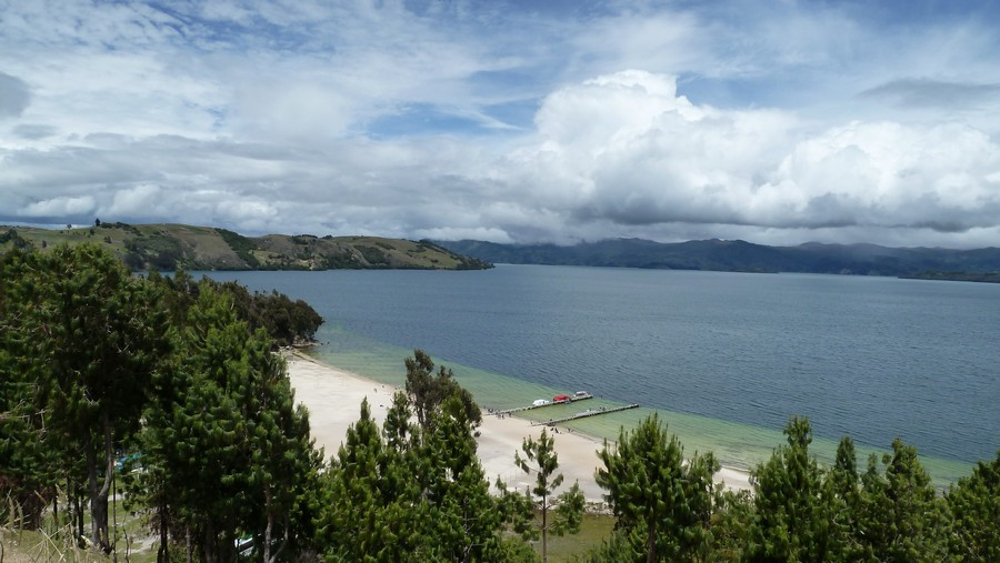 Playa Blanca Lago de Tota