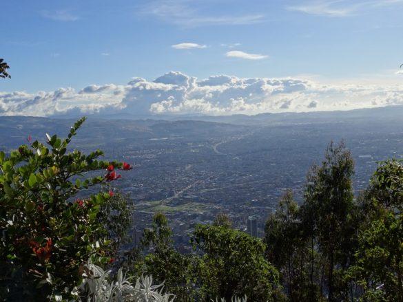 Kriskras door Bogotá
