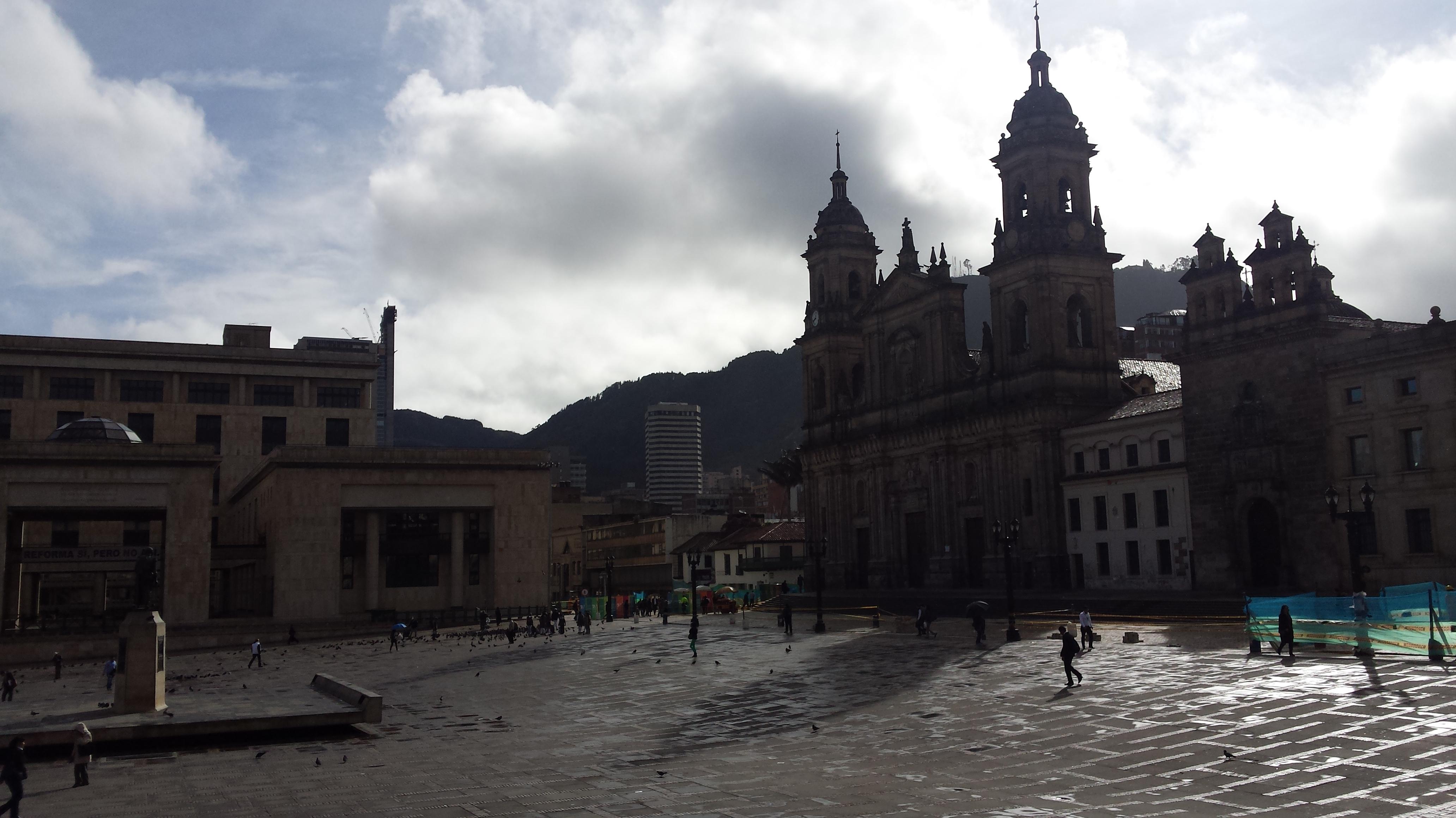 Plaza Bolívar, Bogotá, Colombia