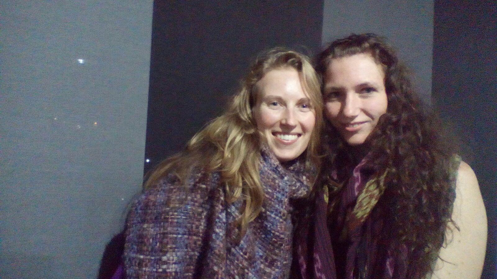 Jessica en ik - Bogotá
