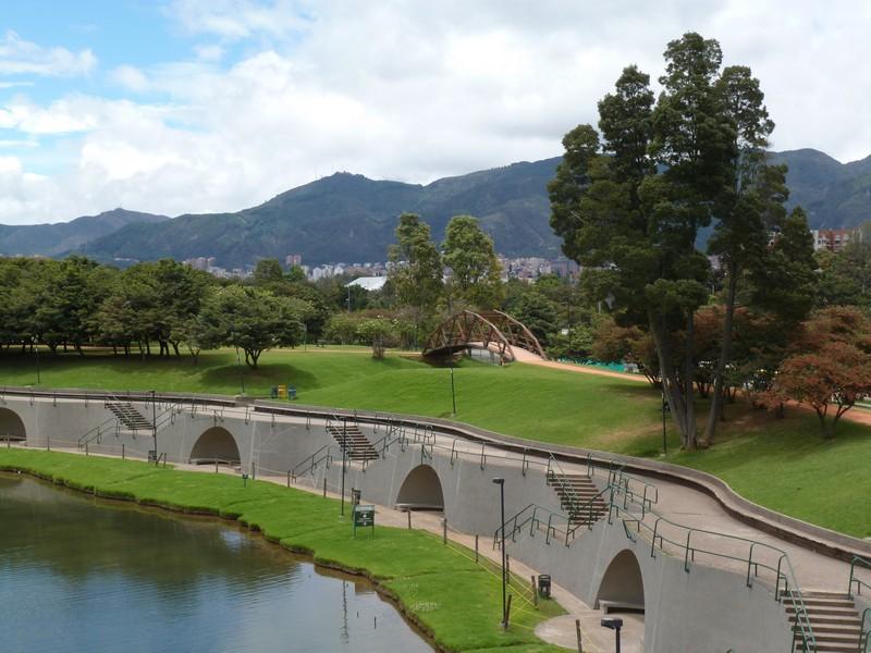 Parque Simon Bolivar in Bogotá