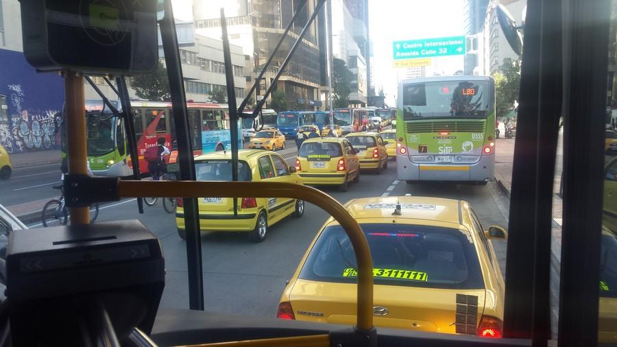 Autovrije dag Bogotá - Día sin Carro