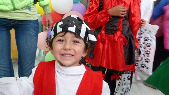 Kinderen met kanker in Colombia - Halloween