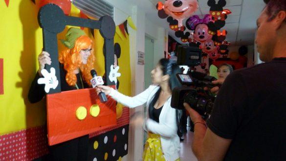 Tv-interview van Esther