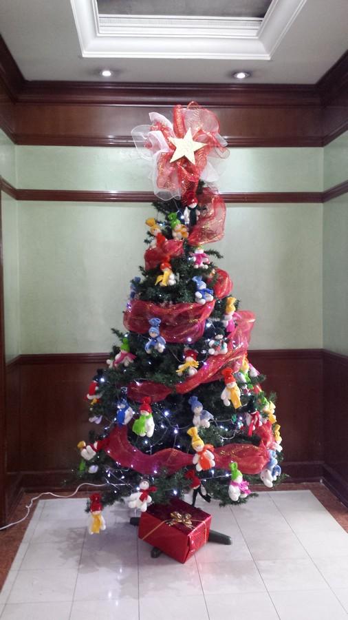 Kerstlunch op het werk