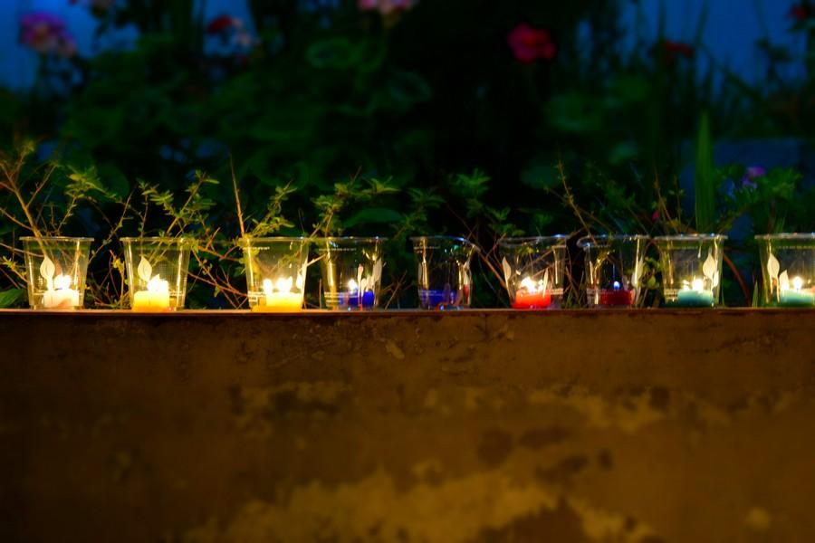 De nacht van de kaarsjes - Las velitas - traditie in Colombia