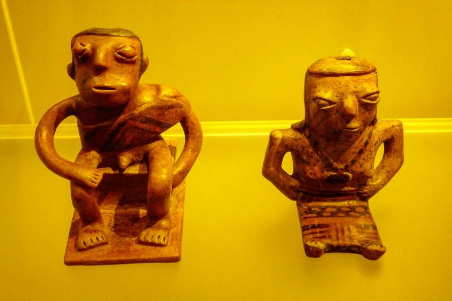 Indianen in Colombia: de Muisca in het Goudmuseum