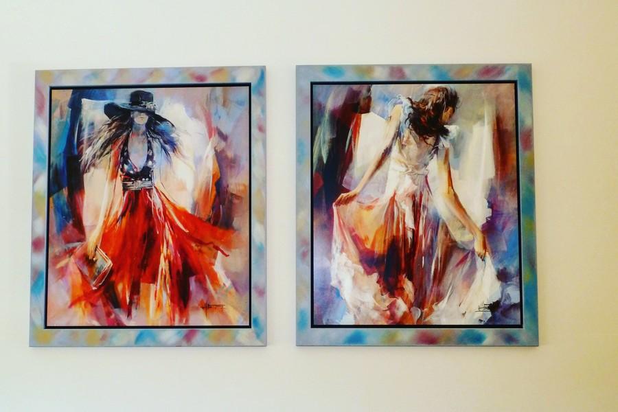 Emigreren: inboedel verkopen - Schilderijen Willem Haenraets
