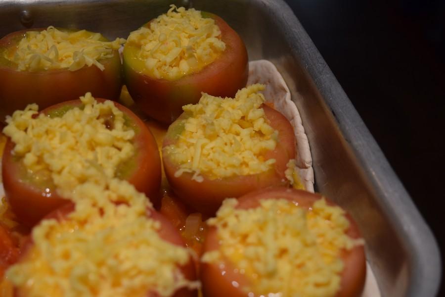 Recept: gevulde tomaten (vegetarisch)