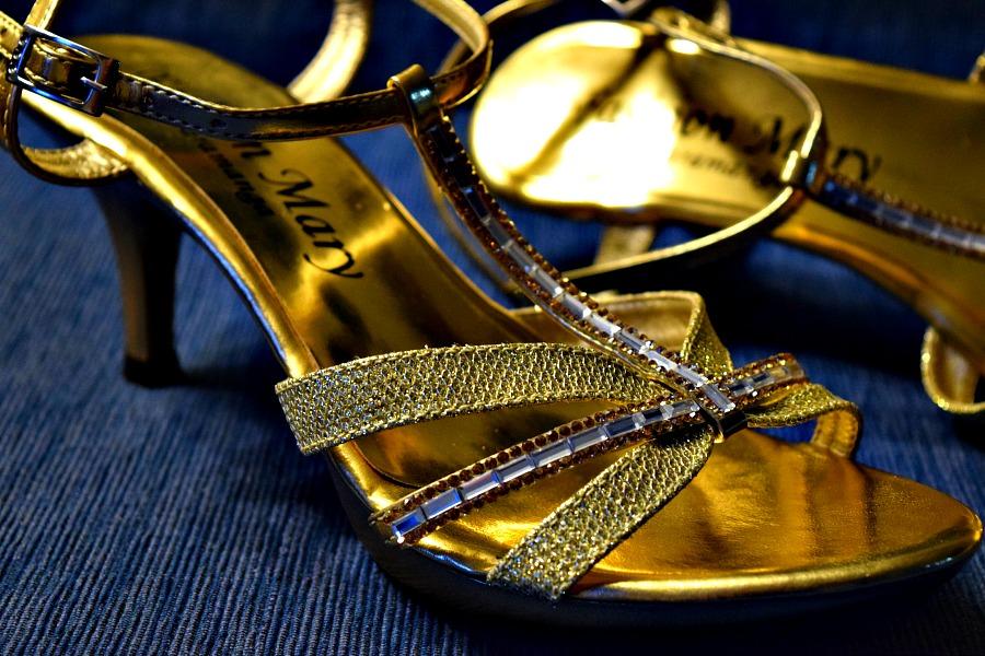 Gouden muiltjes