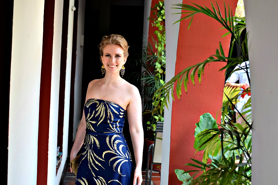 Colombiaanse bruiloft - Gala - outfit