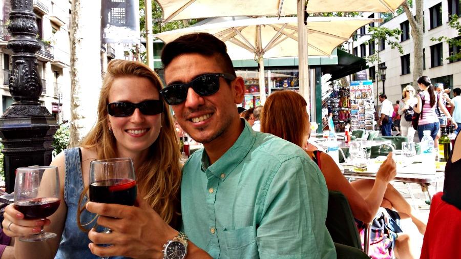Een gemengde relatie: 3 jaar samen - Barcelona