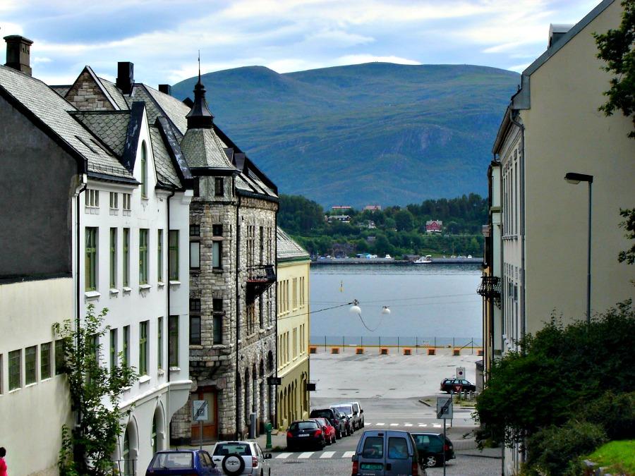 Alesund - roadtrip - Noorwegen