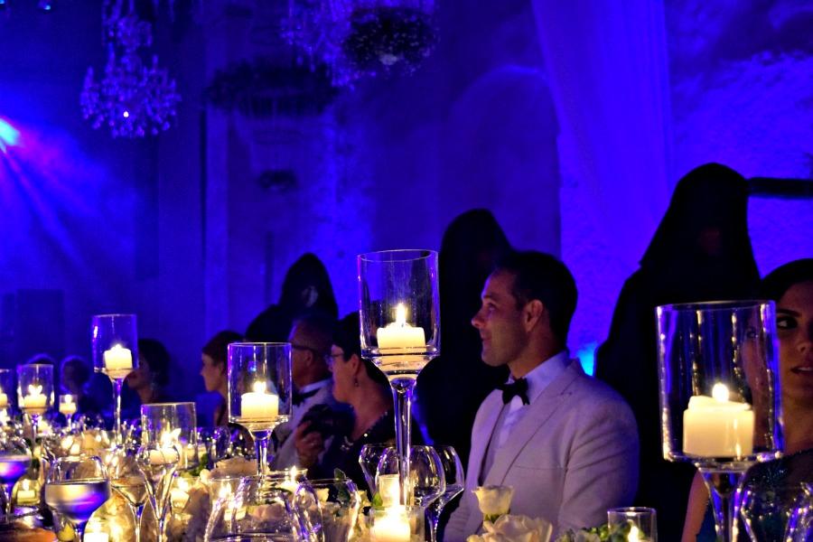Een Colombiaanse bruiloft: een show