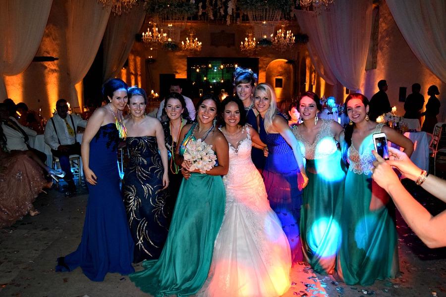 Een Colombiaanse bruiloft: de dames op de foto