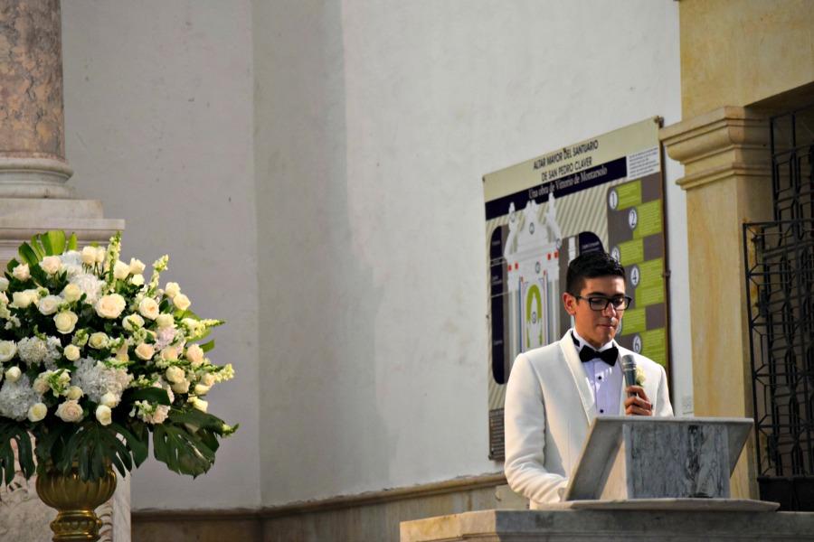 Colombiaanse bruiloft: het gebed