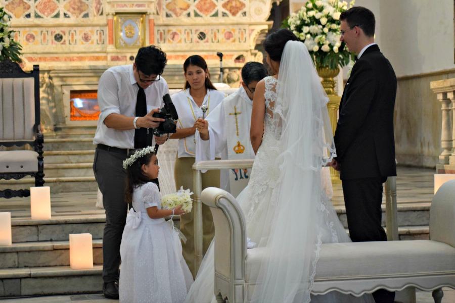 Colombiaanse bruiloft: de ringen