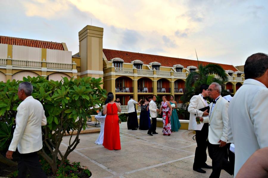 Colombiaanse bruiloft: de gasten