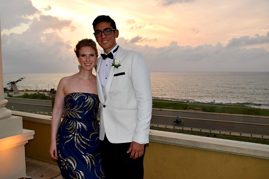 Colombiaanse bruiloft: op de foto