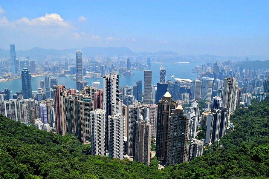 Hongkong - The Peak - Skyline