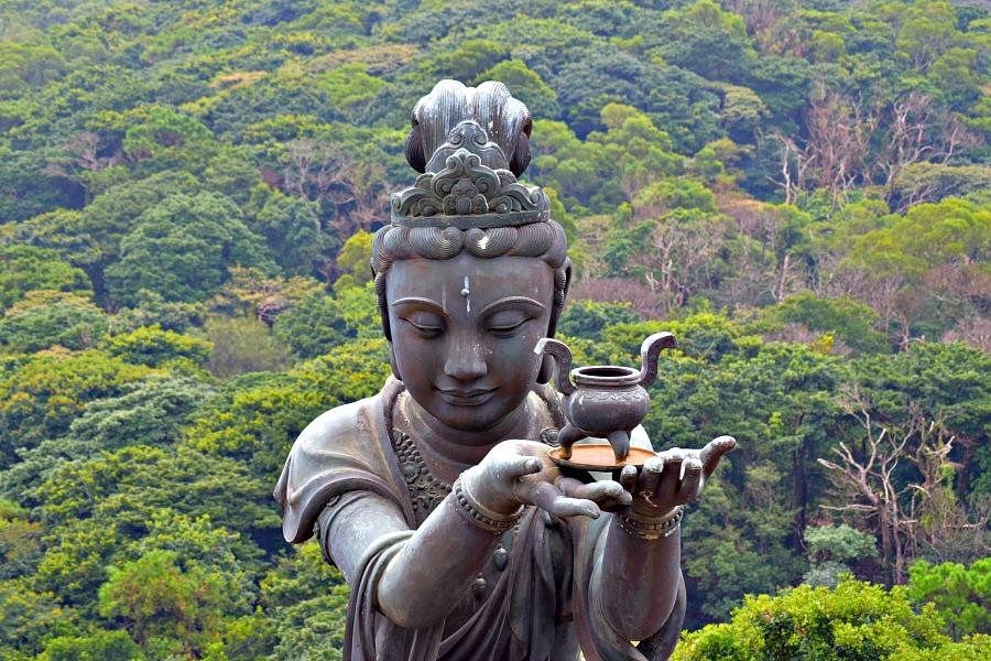 Hongkong - Launtau - Big Buddha - Boeddha