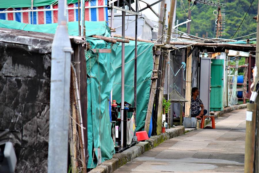 Hongkong - Launtau - Tai O - vissersdorp