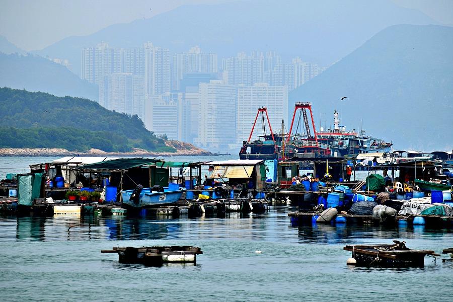 Lamma Island: wandelen in Hongkong