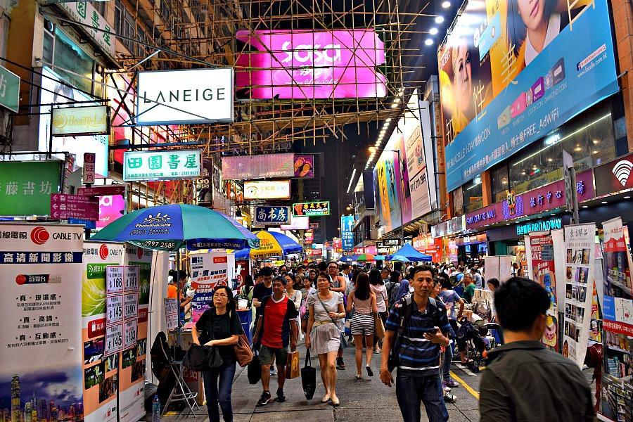 Winkelen in Hongkong