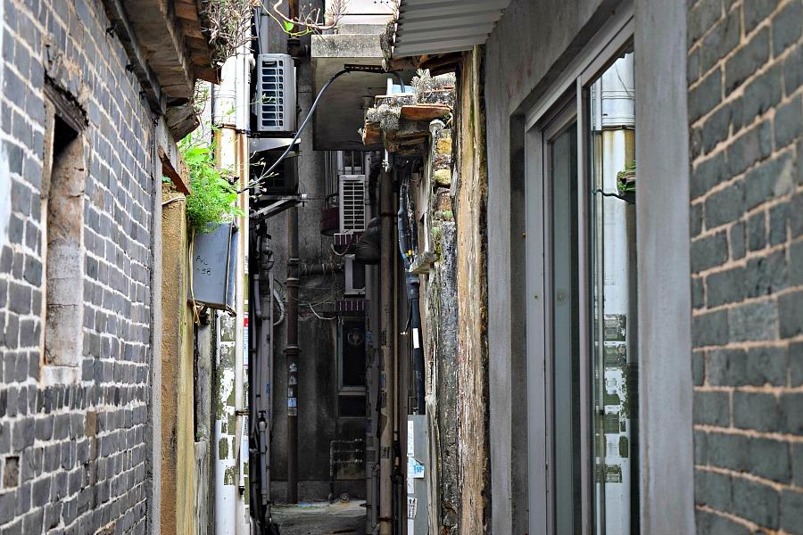 Hong Kong Pat Sing Heritage Trail - Ommuurd dorpje