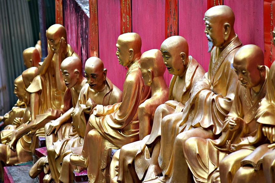 Hongkong - Klooster van de 10.000 Boeddha's