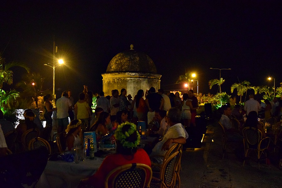 Dansen in Cartagena