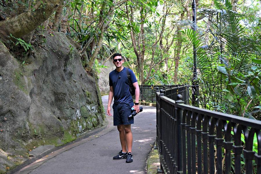 Hongkong The Peak - Morning Trail - wandeling