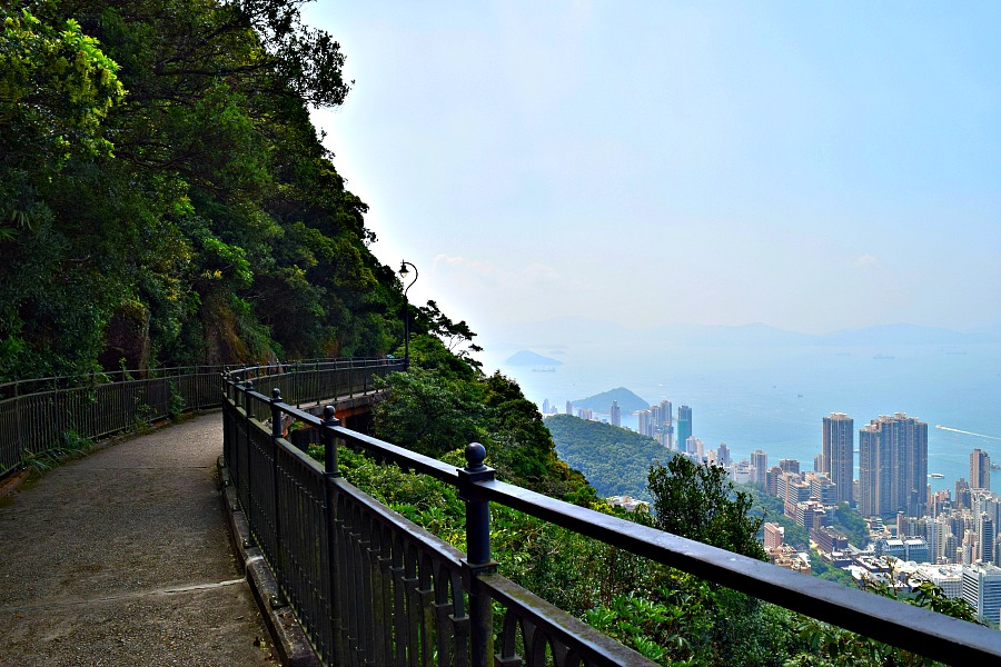 Hongkong The Peak - Morning Trail - wandeling
