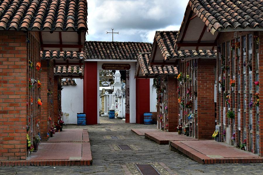 Colombia off the beaten track: begraafplaats