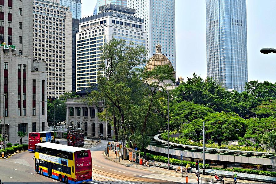 Openbaar vervoer in Hongkong