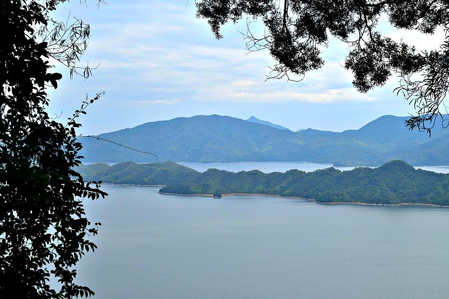 Plover Cove Reservoir - Stuwmeer Hongkong - Wandelen