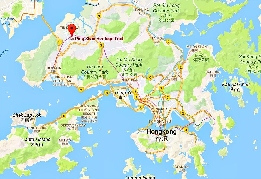 Hongkong Ping Shan Heritage Trail - wandeling