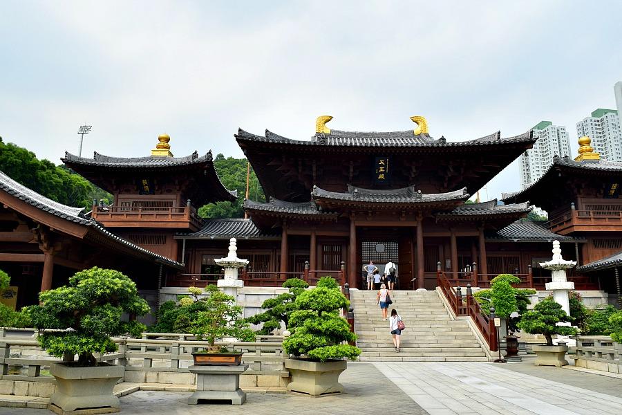 Chi Lin Nunnery Hongkong tempel